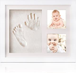 LEHSGY Baby Handprint and Footprint Kit,Personalised Baby Shower Gifts for Baby Registry, Newborn Baby Gifts Keepsake for ...