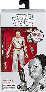 Figura de Star Wars The Black Series Rey y D-O Toy First Edi