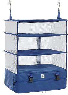 Portable Luggage Organizer - Hanging Travel Packing System Luggage Cube