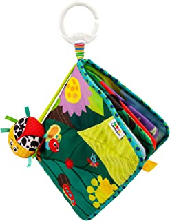 TOMY L27385 LAMAZE Bitty Bug Book, Clip on Pram and Pushchair Newborn, Sensory Babies with Colours and Sounds, Development...