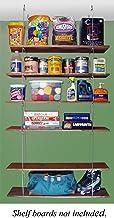 "product image for Quick - Shelf Hangers Six Shelf 12"" Deep Ceiling Mount Shelving Unit"