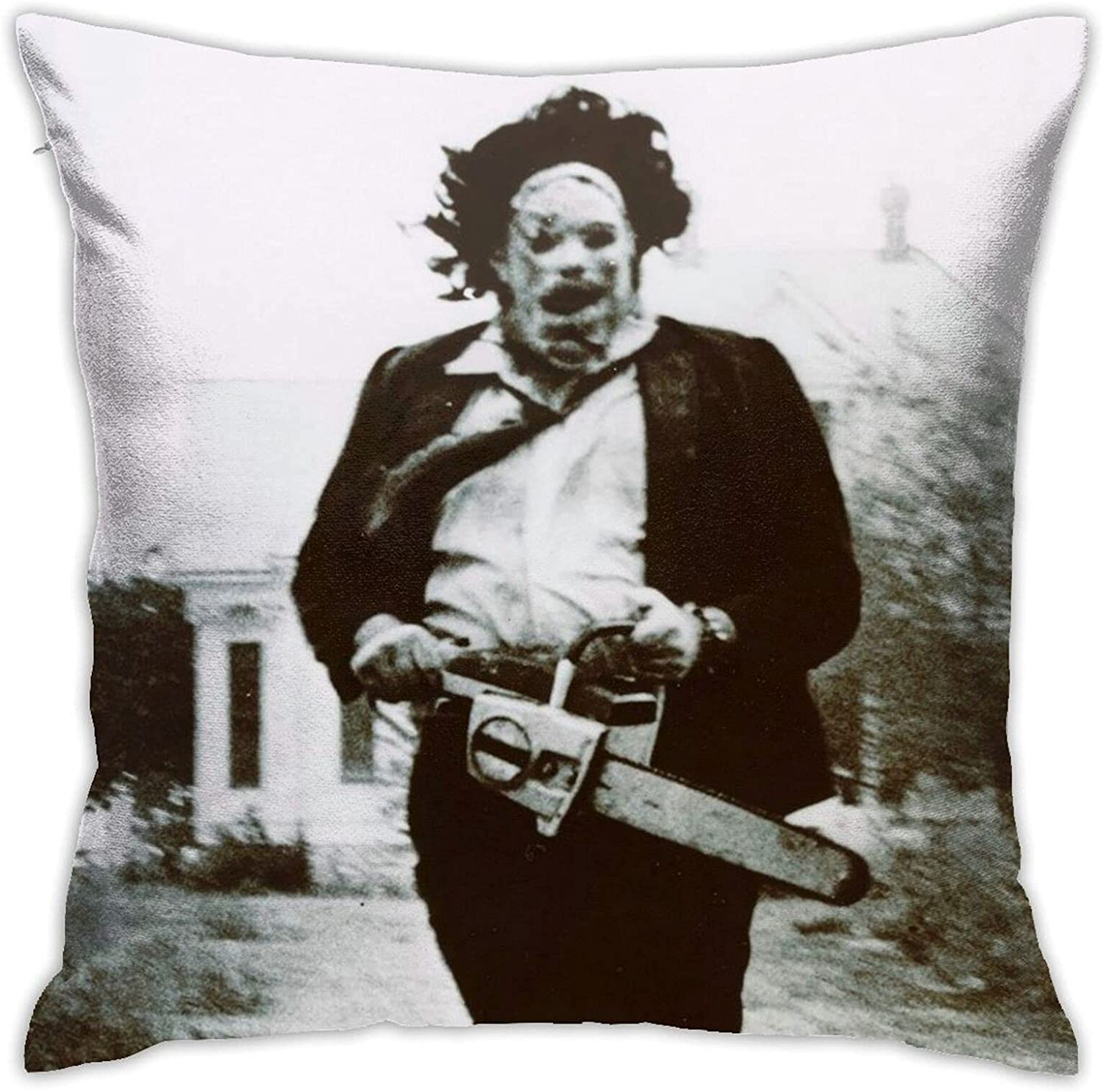yunsu Hostel Leatherface Mail order Pillow Case Covers Funny Washington Mall Square