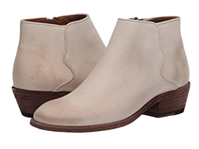 Frye Carson Piping Bootie (Ivory Nubuck) Women