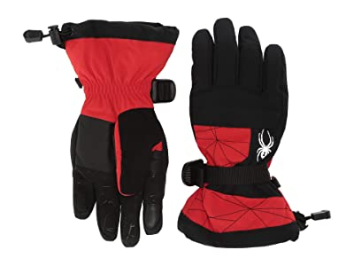 Spyder Kids Overweb (Little Kids/Big Kids) (Volcano) Extreme Cold Weather Gloves