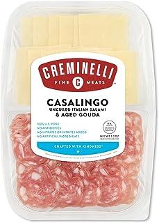 Creminelli - Sliced Casalingo Salami with Aged Gouda Cheese, 2.2 oz