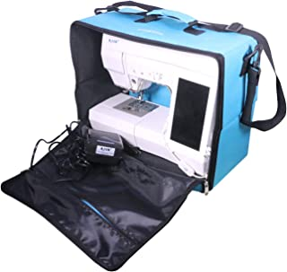 Foldable Sewing Machine Carry Case,Sewing Machine Carry Bag,Sewing Machine Storage Tote, with Waterproof Shoulder Strap - Idea for Travel Cover Storage AXIS FC001