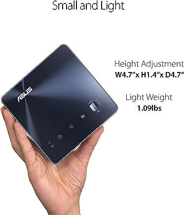 $583 Get ASUS ZenBeam S2 Portable Projector LED 500 Lumens 720p USB-C HDMI 6000mAh Battery