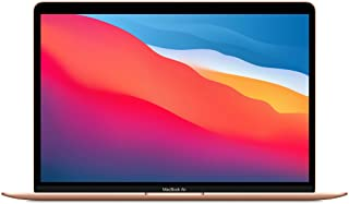 Novo Apple MacBook Air (de 13 polegadas, Processador M1 da Apple com CPU 8‑Core e GPU 8‑Core, 8 GB RAM, 512 GB SSD) - Dourado