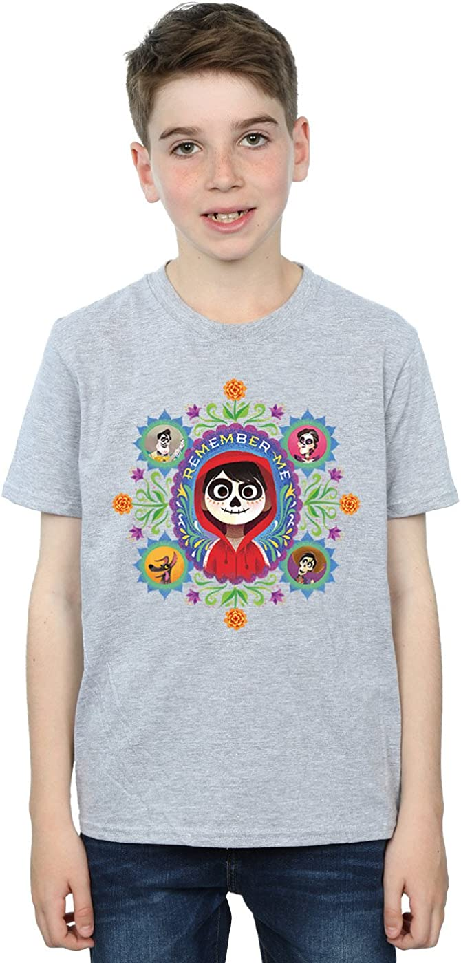 Disney Boys Coco Remember Me T-Shirt 9-11 Years Sport Grey