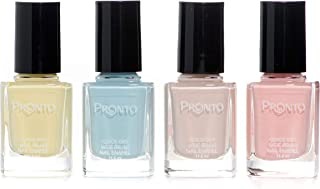 Pronto Neutral Collection, 4 Pieces Color Set – Long Lasting, Quick Dry Nail Polish (11.5 ml/0.40 fl oz ea.) (Baby)
