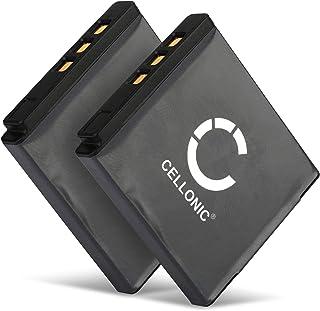 CELLONIC 2X Batteria per Fuji Fujifilm X10 X20 XF1 XP200 XP150 XP100 Instax SQ10 Instax Share SP-3 F100ER F550EXR F600EXR ...