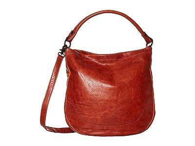 Frye Melissa Hobo (Burnt Orange) Hobo Handbags
