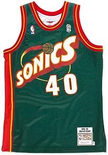 Mitchell & Ness Shawn Kemp Seattle Supersonics Authentic 1995 Road NBA Jersey