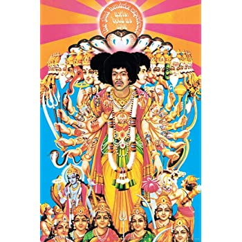 Jimi Hendrix Axis Bold as Love Music Poster 12x18 inch
