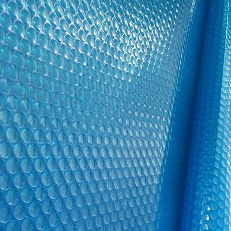 Cobertor Solar Piscina Almohadilla de calefacción solar, Mantas de piscina rectangulares azules para piscinas hinchables Piscinas de estructura, para patio trasero al aire libre, 3 7 11 15 19 23 26 pi