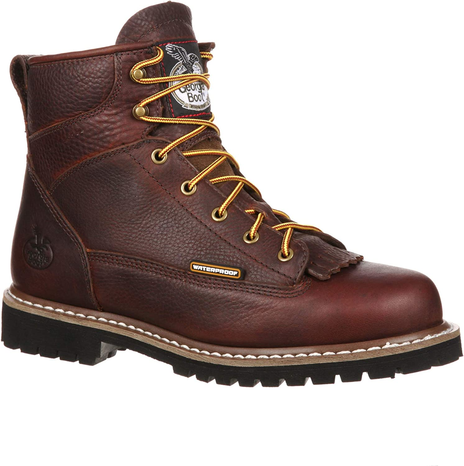 Georgia Men's 6 Inches outlet Steel Popular products Toe Logger Boot Waterproof Heel Low