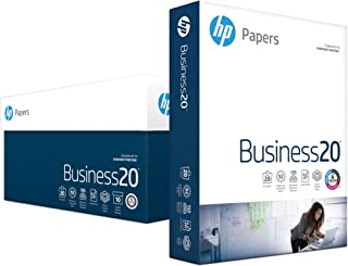 HP Printer Paper, Business Copy Paper, 8.5 x 11, Letter, 92 Bright, 10 Reams, 5,000 Sheets - Diversity Product, Minority-Owned Business, MBE (208000C)