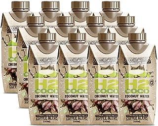 H2Coco Cocoespresso Coffee Coconut Water, 12 x 330 Milliliters