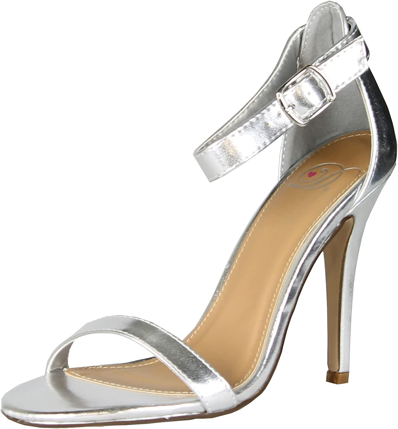 Simple Classy Formal Club Prom Dress Ankle Wrap Sandal Women shoes