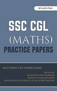 SSC CGL Math Mock Test Papers : Mocktime Publication