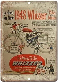 Benson 1948 Whizzer Bike Motor Vintage Motorcycle Ad 12