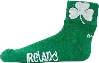 Ireland Green Quarter Socks