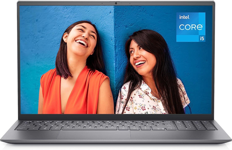 Dell Inspiron 15 5510 Laptop Notebook, 15.6 Inch FHD (Full HD) Laptop - DDR4, Intel Core i5-11300H, 8GB DDR4 RAM, 512GB SSD, Intel Iris Xe Graphics, Windows 10 Home - Platinum Silver (Latest Model)