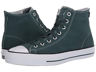 Converse Skate All Star Pro Suede Hi (Faded Spruce/White/Fadded Spruce) Men