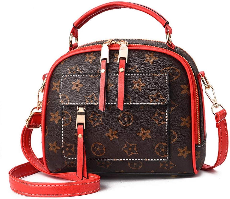 Shoulder Bag,Women Fashion Classic Vintage Simple Printing Handbag,Crossbody Ladies Leisure Messenger Bags