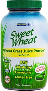 organic wheat grass shots