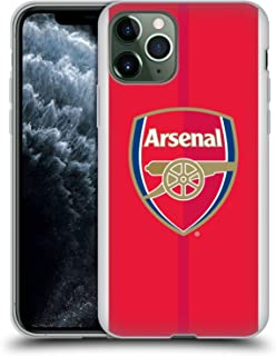 Official Arsenal FC Home 2016/17 Crest Kit Soft Gel Case Compatible for iPhone 11 Pro