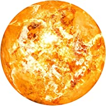 Wall Sticker 3D Planet Fluorescent Removable Glow in The Dark Sticker Room Home Bedroom Decor (G, Free Size)