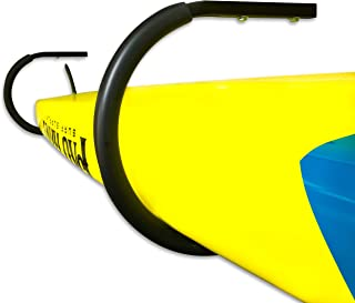 StoreYourBoard SUP and Surfboard Ceiling Storage Rack, Hi Port Overhead Mount, Home & Garage Organizer Hooks