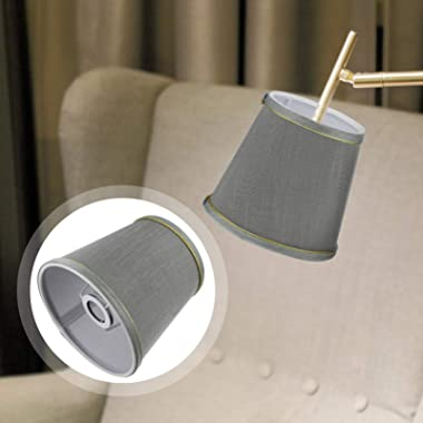 Beaupretty Fabric Drum Lamp Shade Modern Hand Craft Floor Table Lamp Cover Shade Wall Chandelier Light Protection Cover Repla