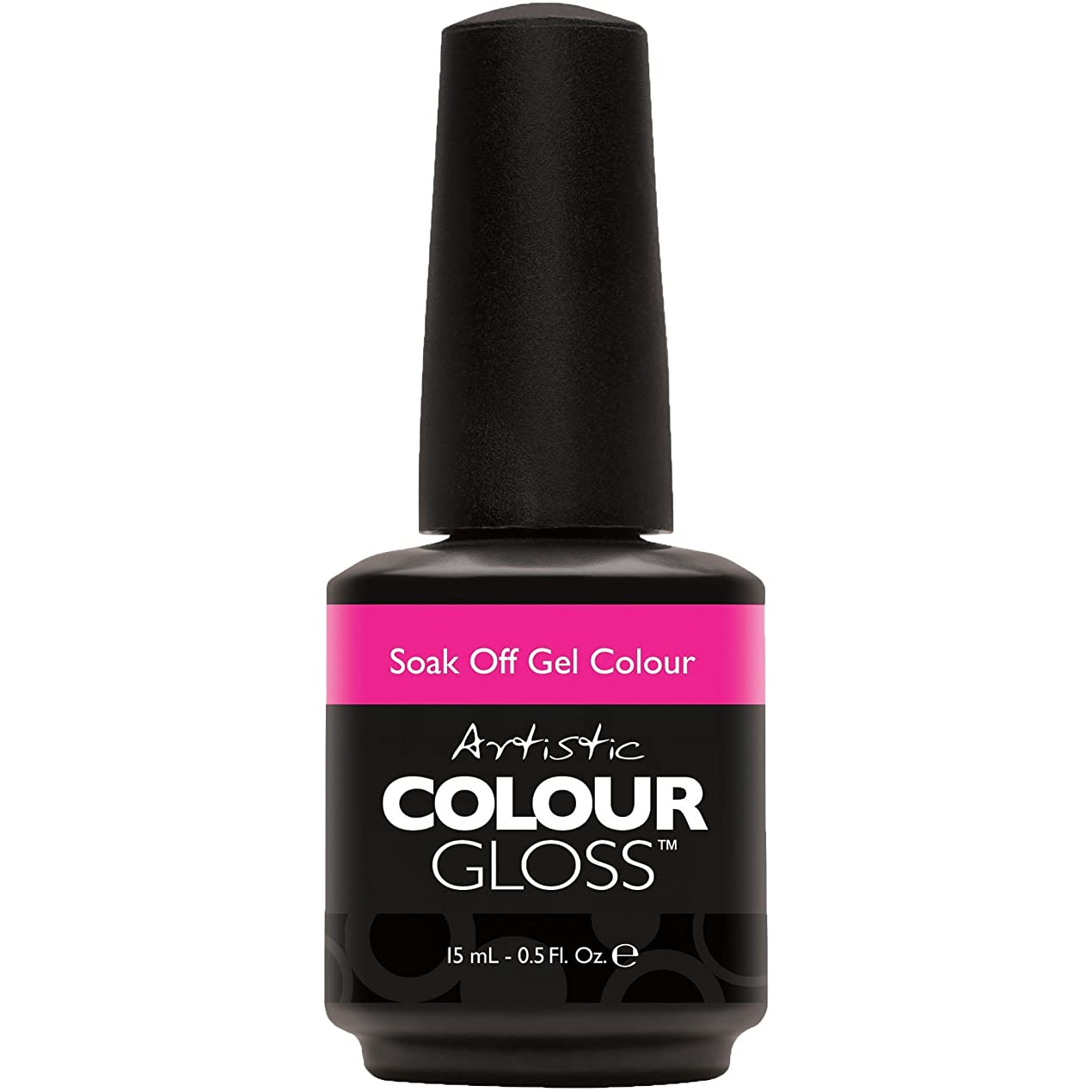 露書き込み信仰Artistic Colour Gloss - Polka Dottie Hottie - 0.5oz / 15ml