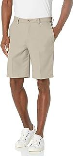 سروال قصير كاجوال قصير رجالي من Haggar مقاس 18 PRO قابل للتمدد من الأمام