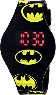 Batman Kids' BAT4146 Watch with Black Rubber Band