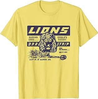 Best lions drag strip t shirts Reviews