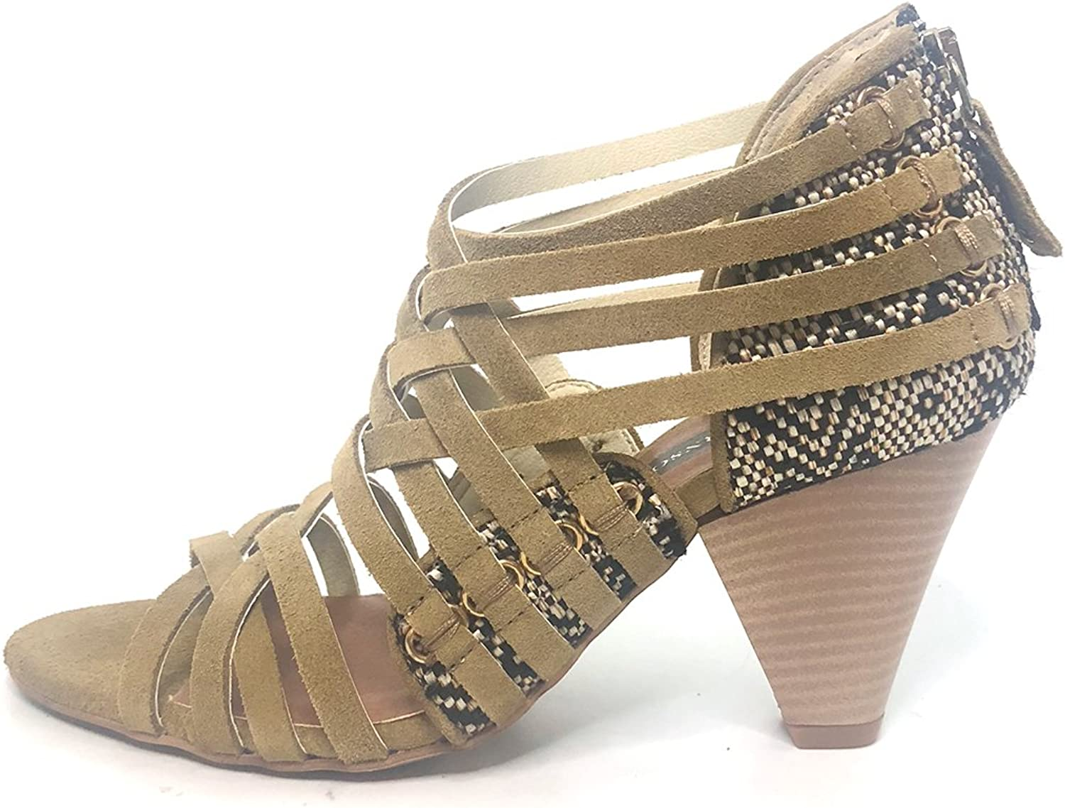 Matt Bernson Womens Kellan Leather Open Toe Casual Strappy Sandals