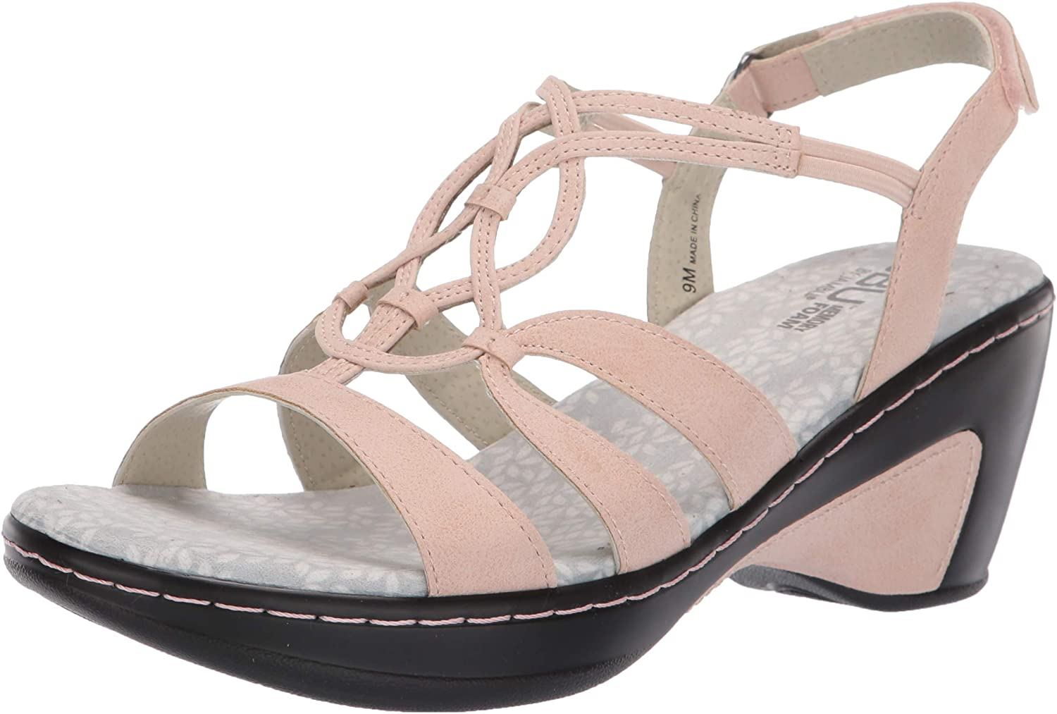 Jambu Womens Gigi Wedge Sandal