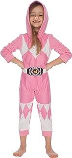 INTIMO Girls' Pink Ranger Critter Pajama
