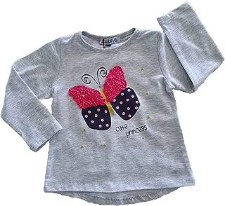 Kız Bebek Kelebek Modelli Sweet 1-3 Yaş Gri - C73465