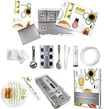 Molecule-R Ultimate Triple Pack Kit de gastronomía molecular cocina y alimentos culinaria estilo jeringa adobo inyector y gastronomía Molecular Cookbook con 40 Nuevo Recetas