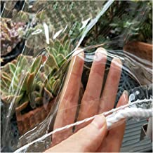 JIANFEI Transparant dekzeil kunststof afdekking, Outdoor Garden Tear Proof Protection Cover Groei Waterdicht En Winddicht ...