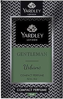 YARDLEY LONDON Gentleman Urbane Compact Perfume, pocket friendly, Masculine fragrance with sandalwood, patchouli and musk,...