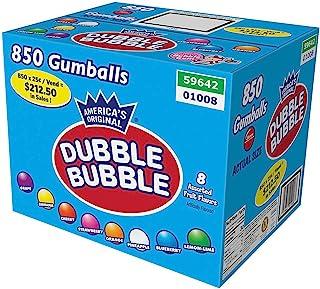 "Dubble Bubble 1"" Diameter Assorted Flavors - 850 Gumballs"