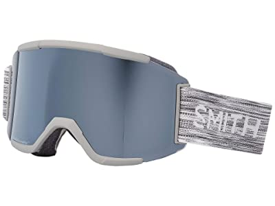 Smith Optics Squad Goggle (Cloud Grey/Chromapop Sun Platinum Mirror/Yellow) Goggles