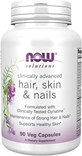 NOW Foods Hair, Skin &Nail W/Cynatine Caps 90's
