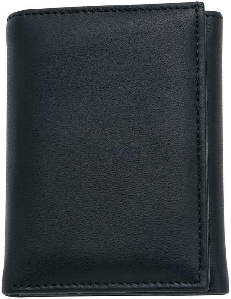 Embassy Mens Leather Tri-Fold Wallet