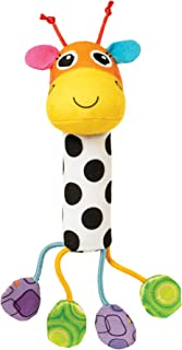 Lamaze Cheery Chimes Giraffe Rattle Baby Toy, Multi Color, Lc27626